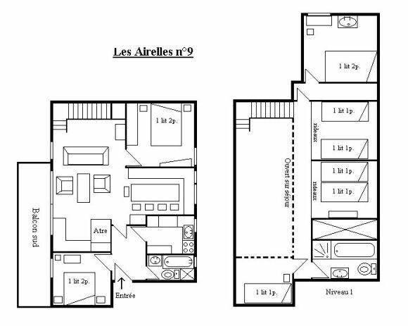 plan appartement 6 pieces
