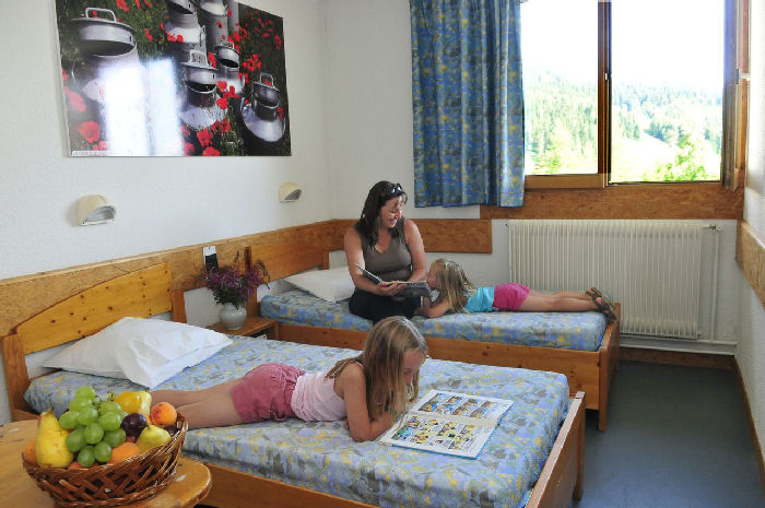 Location Chambre Communicante 4 Personnes - Village Vacances Lamoura-2