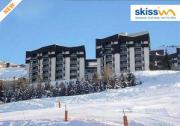 Location sur Les Menuires : Skissim Select - Residence Chanteneige Reberty 1850 - Hebergement + Forfait + Ma